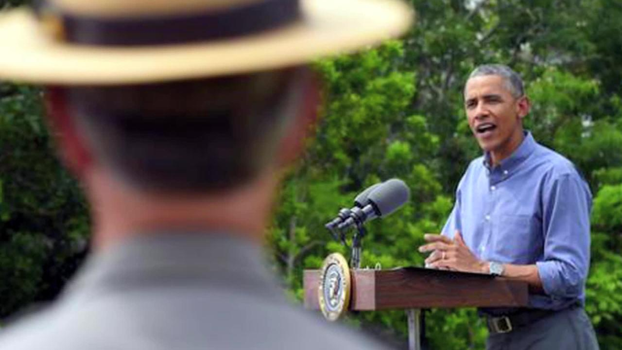 Throwback Thursday: At Everglades, Obama warns of damage from climate neglect