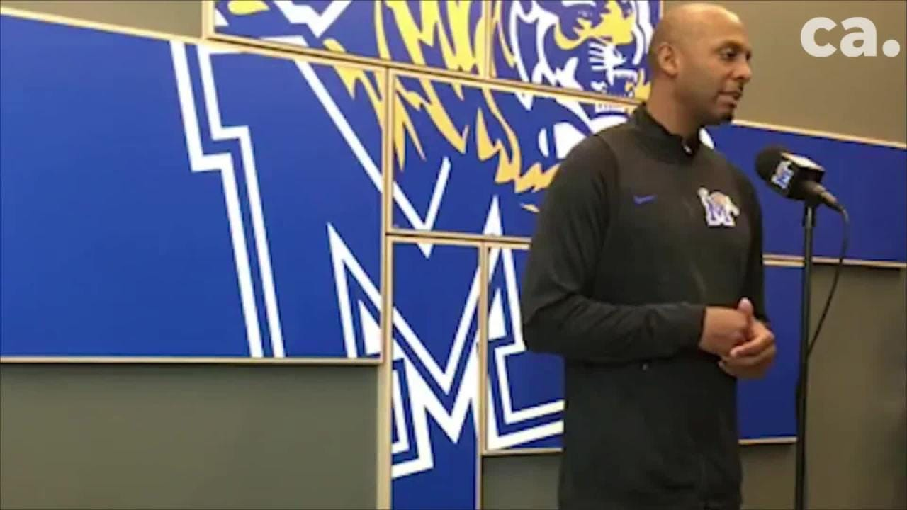 Memphis Tigers basketball coach Penny Hardaway gives an update on the program.