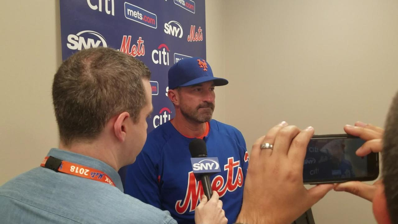 Mickey Callaway on Matt Harvey