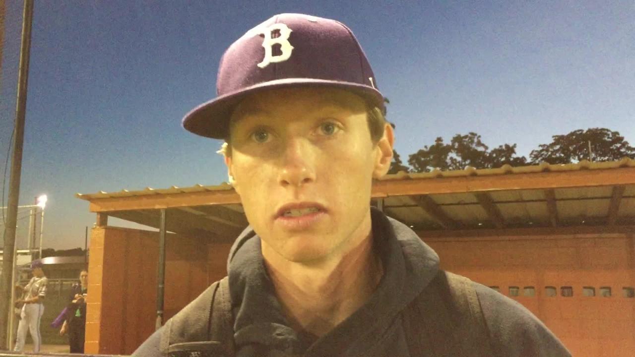 Benton's Kade Bailey talks about defeating Northwood