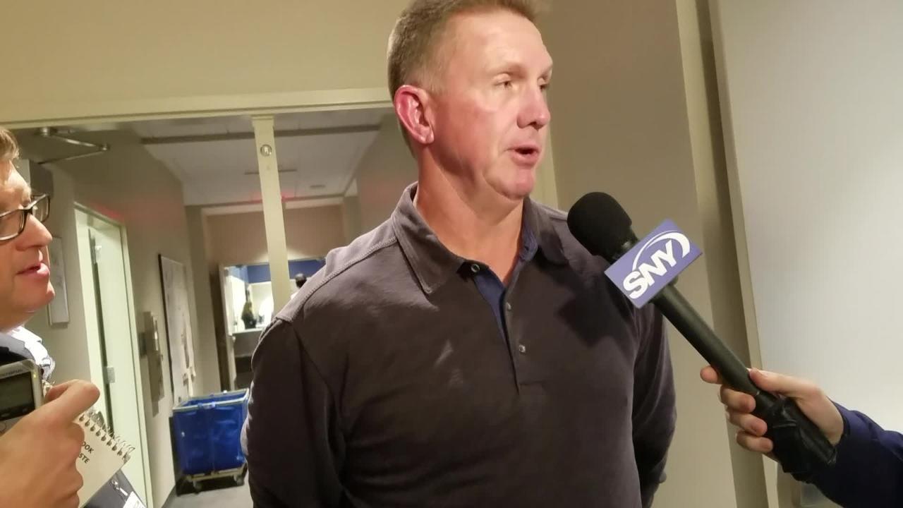 Mets pitching coach Dave Eiland discusses Matt Harvey