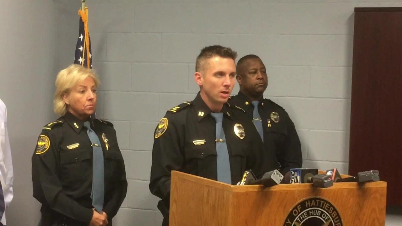 Hattiesburg Police Capt. Branden McLemore said three people were charged in connection to the death of Deborah McGee, who was stabbed multiple times.