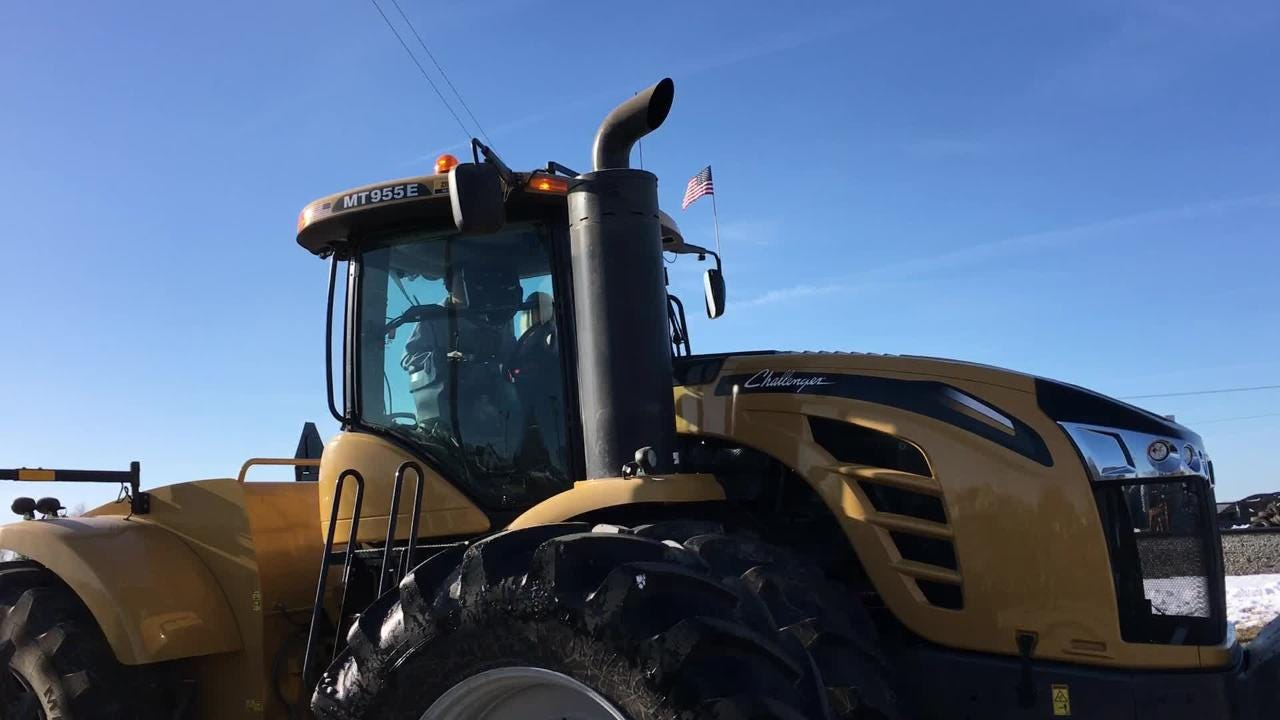 The annual Auburndale Bring Your Tractor to School Day benefited Hazel Harrison, who had a heart transplant in January and is improving daily.