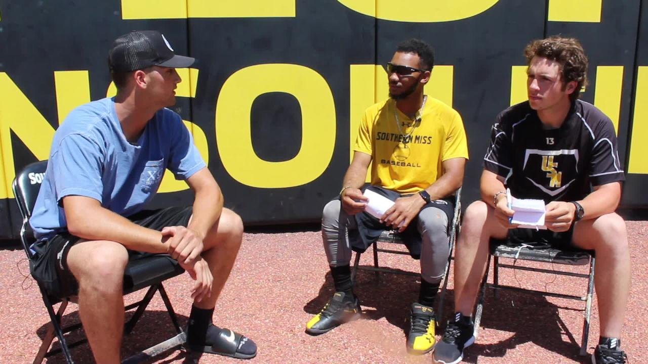 Southern Miss co-captains LeeMarcus Boyd and Mason Irby welcome Matt Wallner to the show this week.