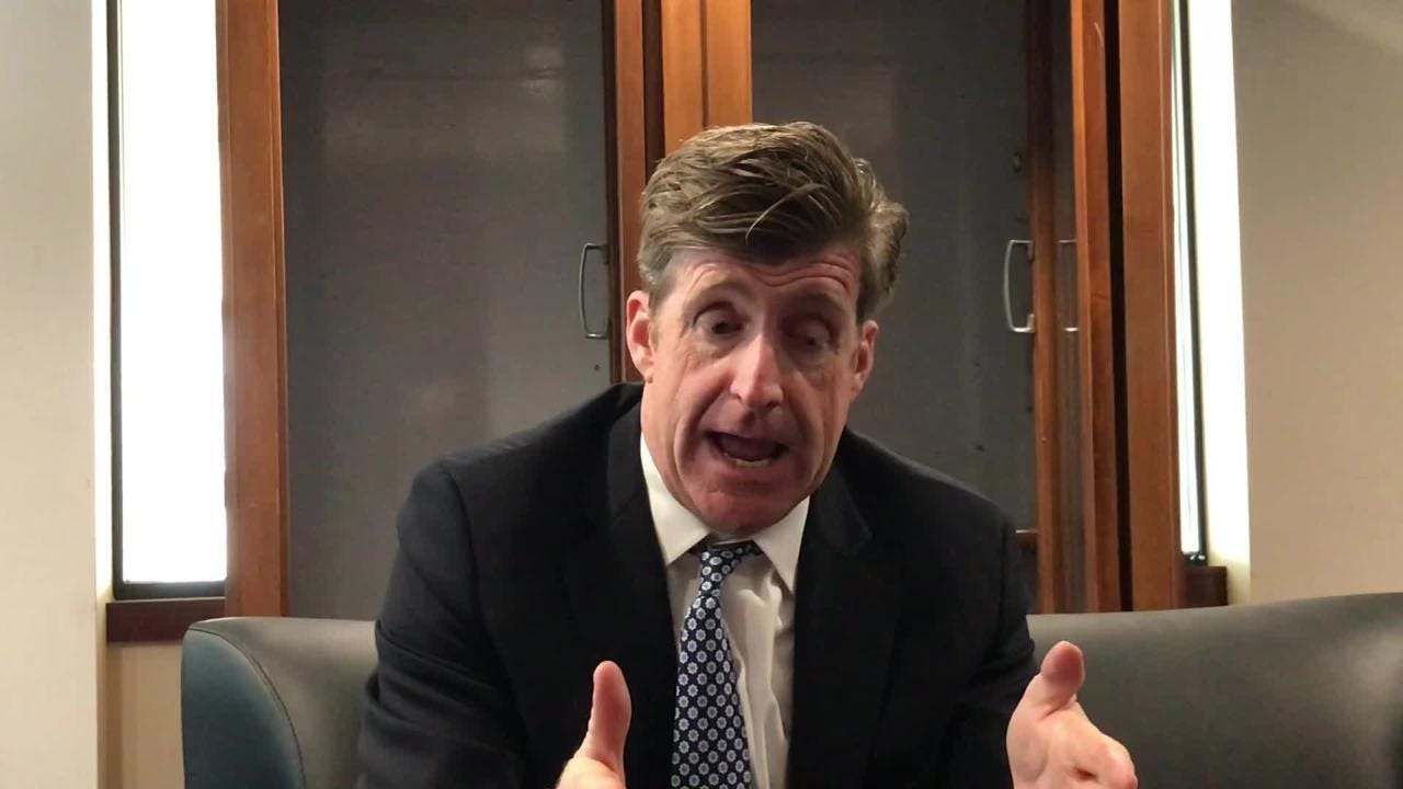 Former Rep. Patrick Kennedy, whose personal fight with addiction fuels his efforts to lobby for better treatment, explains his opposition to marijuana legalization during an April 20, 2018 interview in the National Press Club