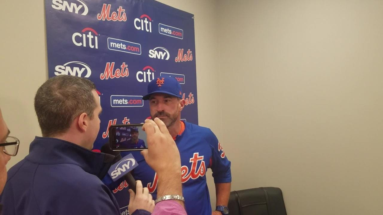Mickey Callaway on Matt Harvey's job security.