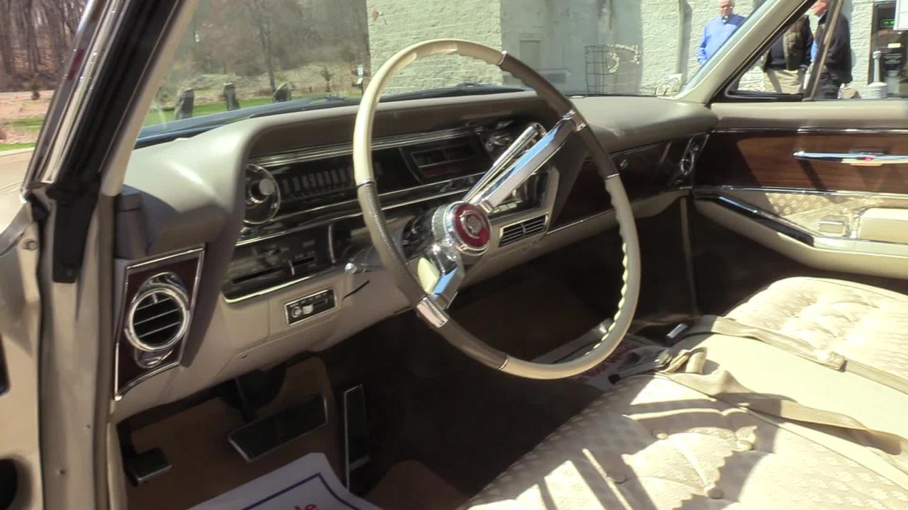 Video: Vintage Cadillac restored in memory of father