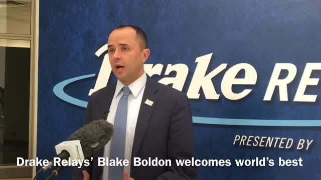 Drake Relays director Blake Boldon will welcome a star-studded field of Olympians and potential record-setters at the track meet this week.