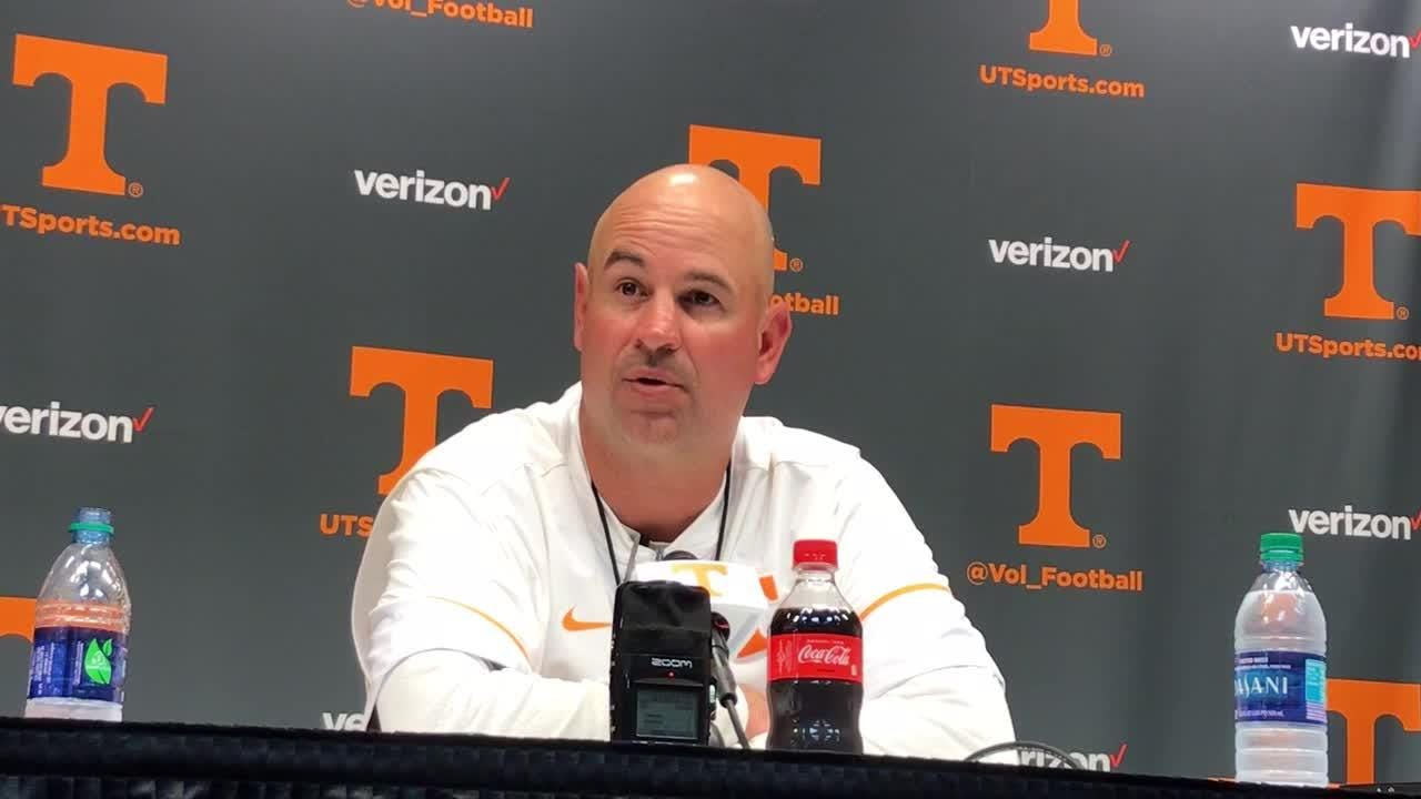 Tennessee coach Jeremy Pruitt wasn't thrilled by the attendance at the spring game