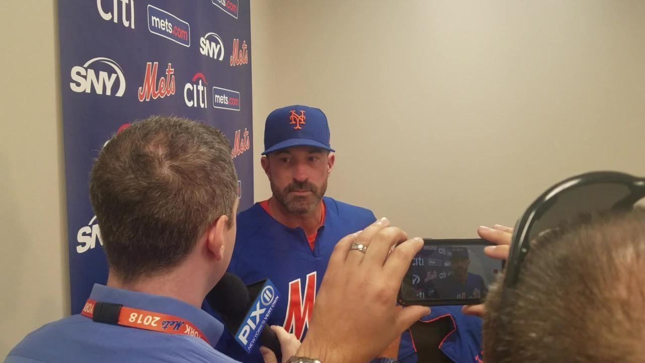 The Mets have decided to send Matt Harvey to the bullpen