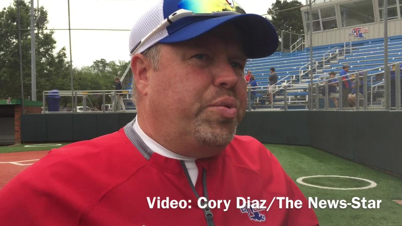 Louisiana Tech softball coach Mark Montgomery assesses his team losing its win streak and splitting with UAB in showdown of top two teams in C-USA.