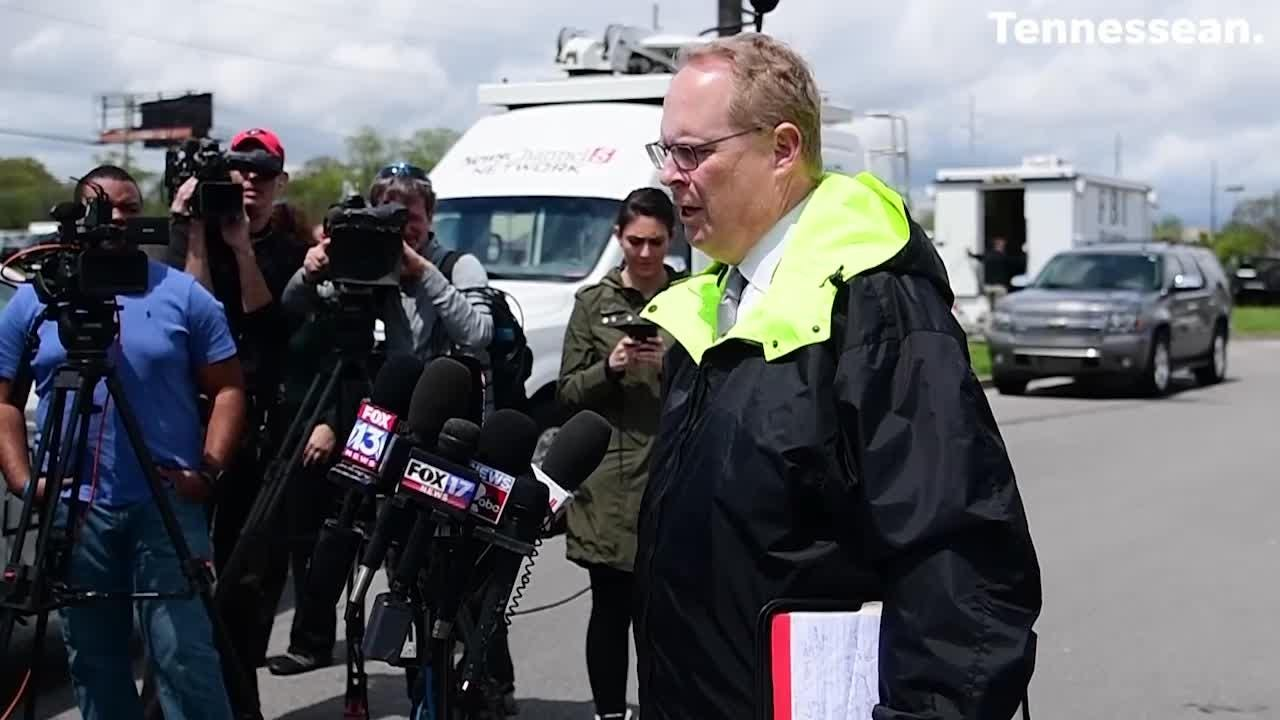 Metro police spokesman Don Aaron provides an update on the Waffle House shooter search