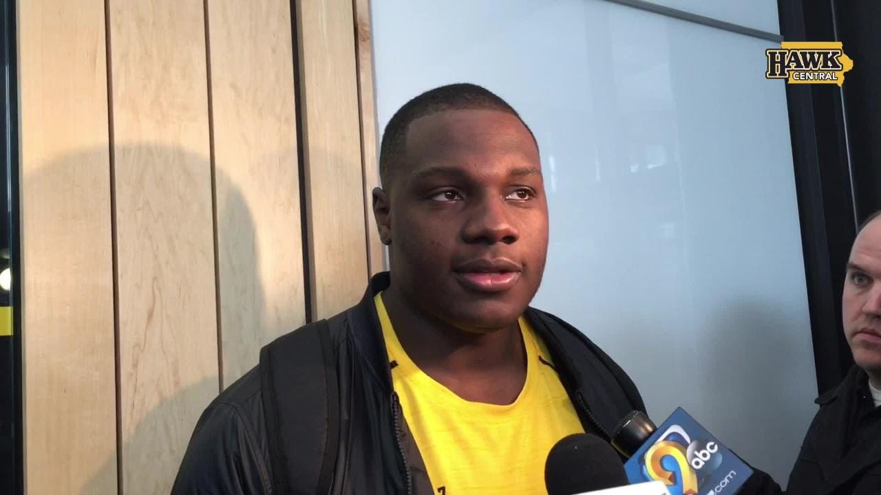 Daniels, who enters this week's NFL Draft as one of the top-rated interior offensive linemen, discusses the Hawkeyes' coaching after pro day.