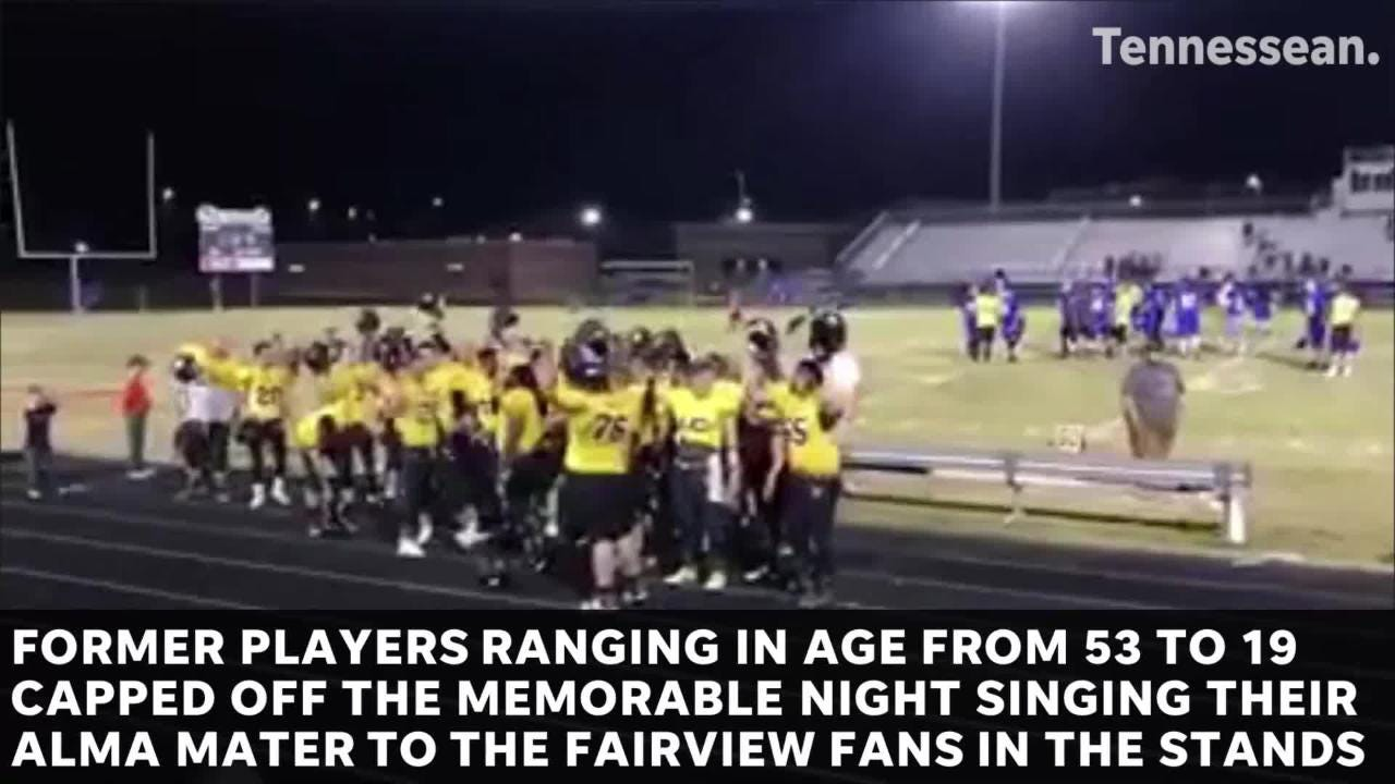 Former Fairview High Football Players got the chanceto relive Glory Days in FHS' Alumni Football Game April 21, 2018.