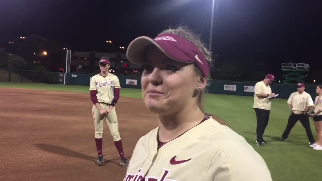 Watch it: Jessie Warren talks being drafted, the sweep of Louisville