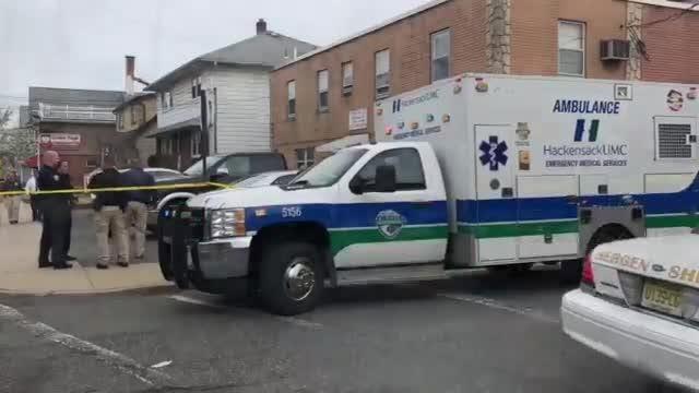 The scene in Garfield where a boy on a bike was fatally struck by a truck.