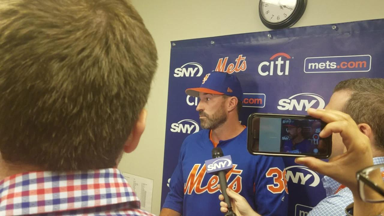 Mickey Callaway on Matt Harvey being available as a reliever