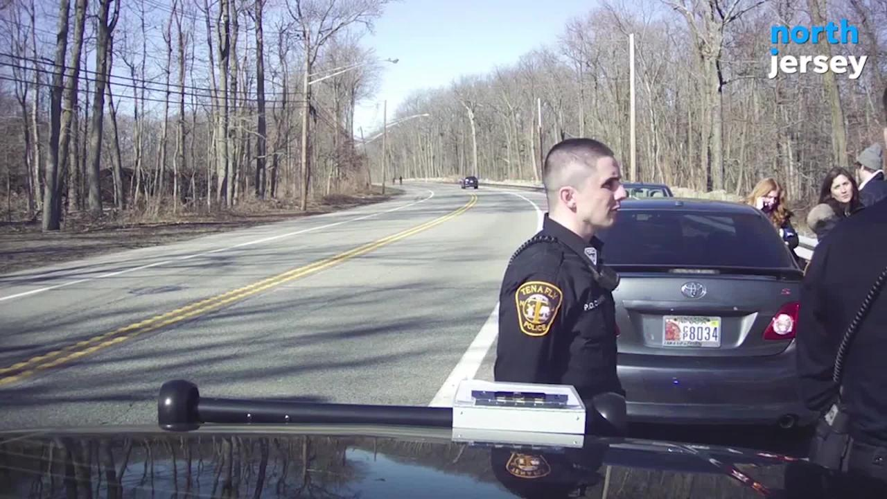 A now-former Port Authority commissioner engaged in a verbal altercation with Tenafly police during a traffic stop involving a family member.