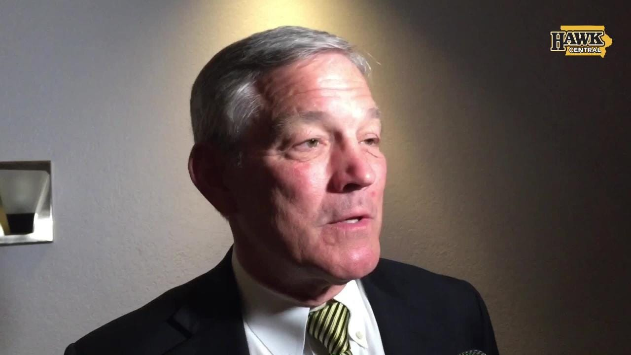Kirk Ferentz is entering his 20th year on the I-Club circuit as Iowa's head coach. He talks about the importance of first-round NFL Draft picks.