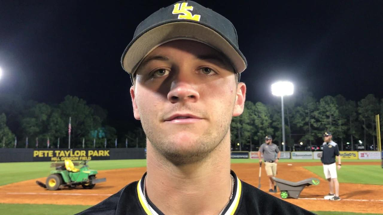 Southern Miss infielder Matt Guidry discusses the team's win over South Alabama.