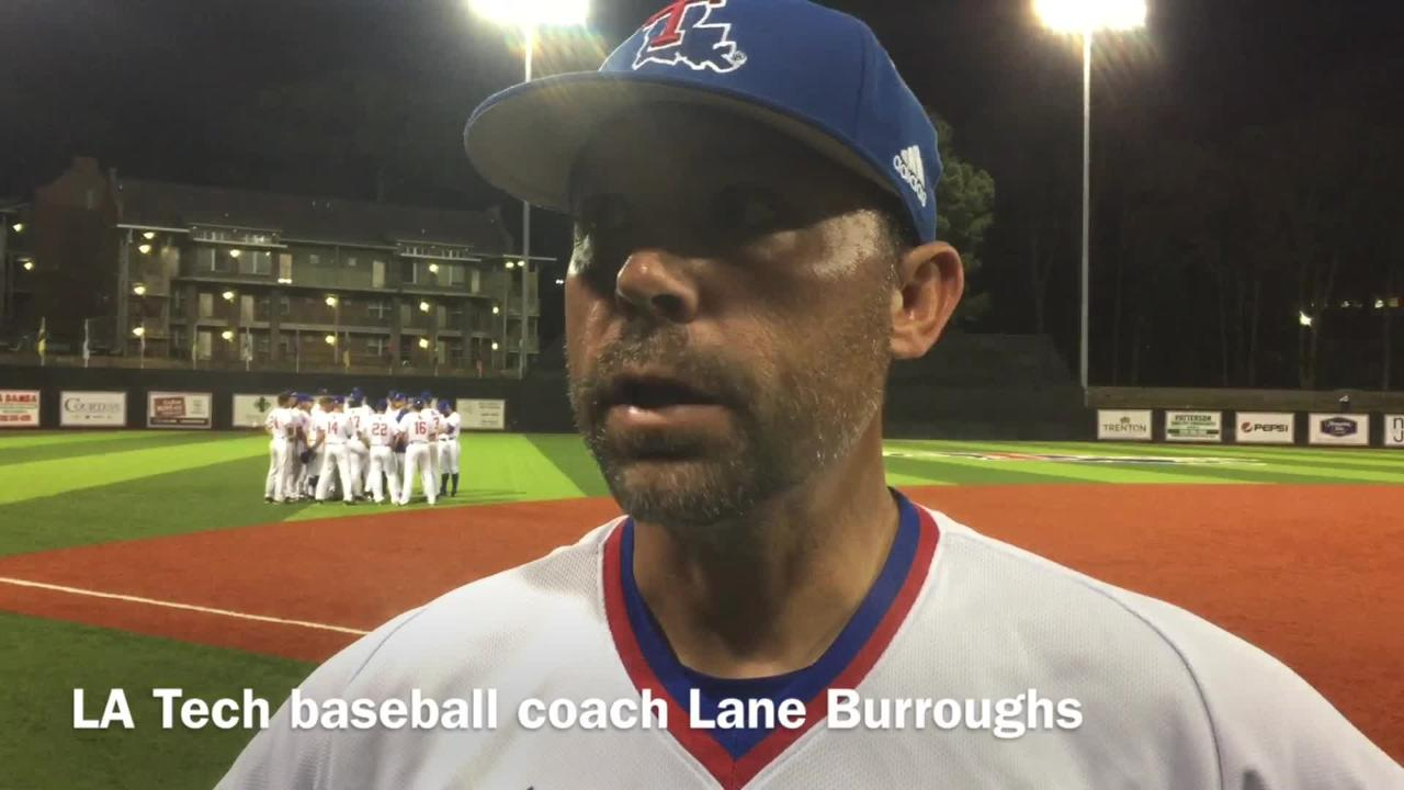 Louisiana Tech baseball coach Lane Burroughs dissects what went wrong for his team against Louisiana-Lafayette Tuesday night.