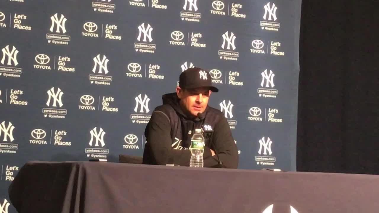 Aaron Boone impressed by Yankees' winning streak
