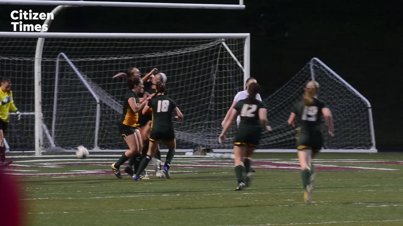 Asheville hosted Reynolds in girls soccer on Tuesday, April 24, 2018.