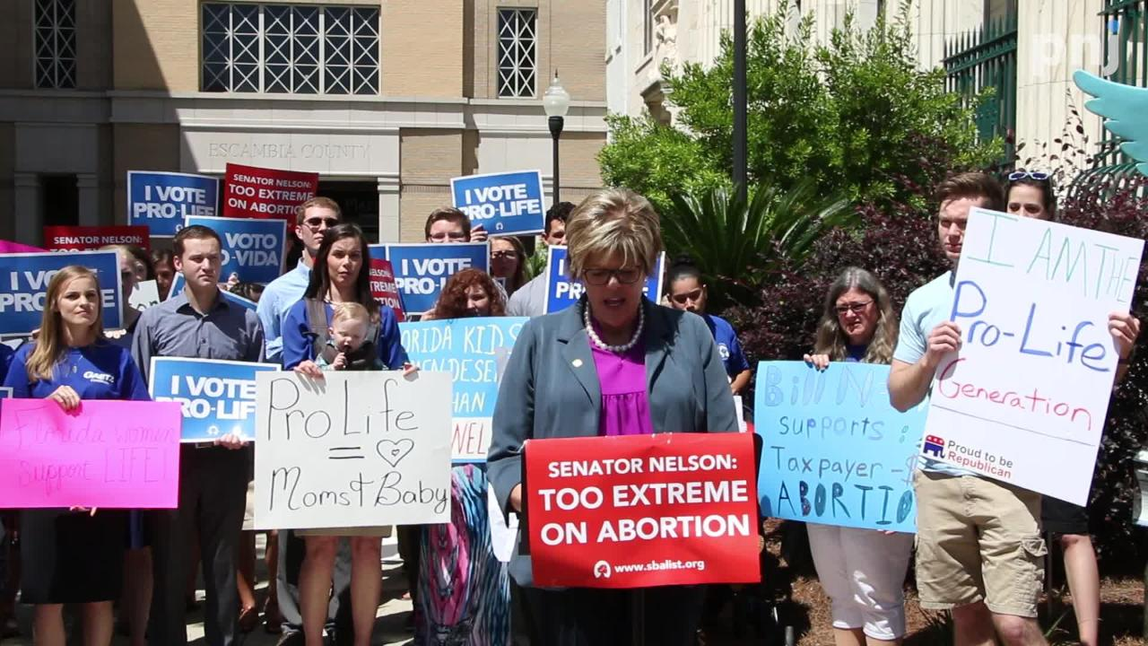 Anti-abortion activist shares life-changing experience