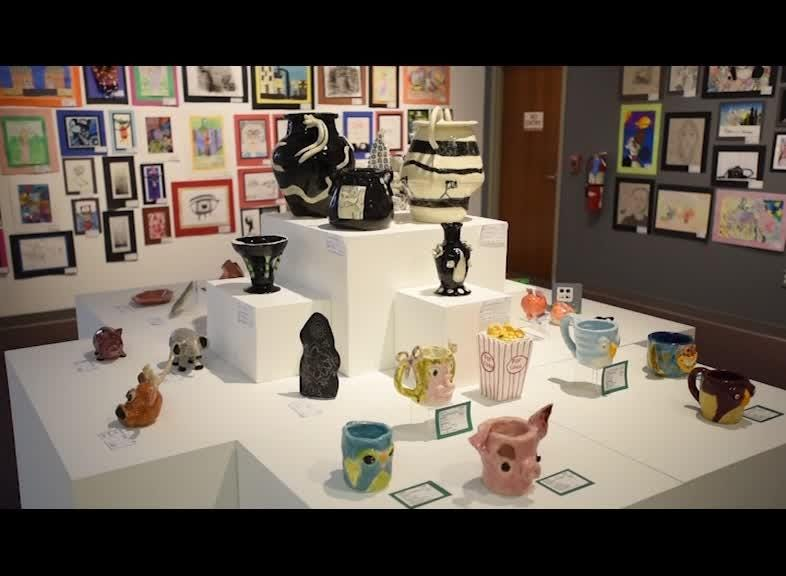The Zanesville Museum of Art is hosting an art exhibition of work done by Muskingum County Students.