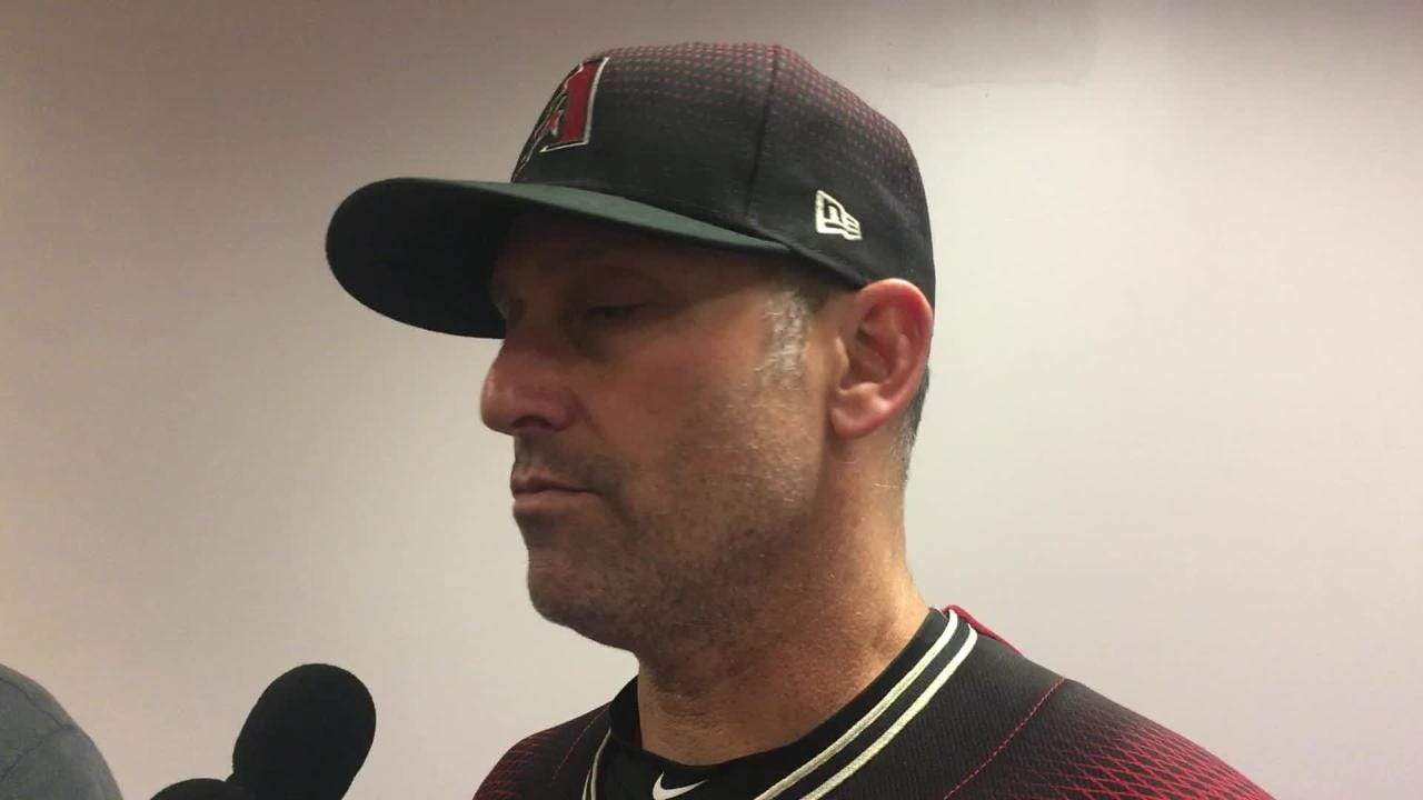 Torey Lovullo on loss to Phillies