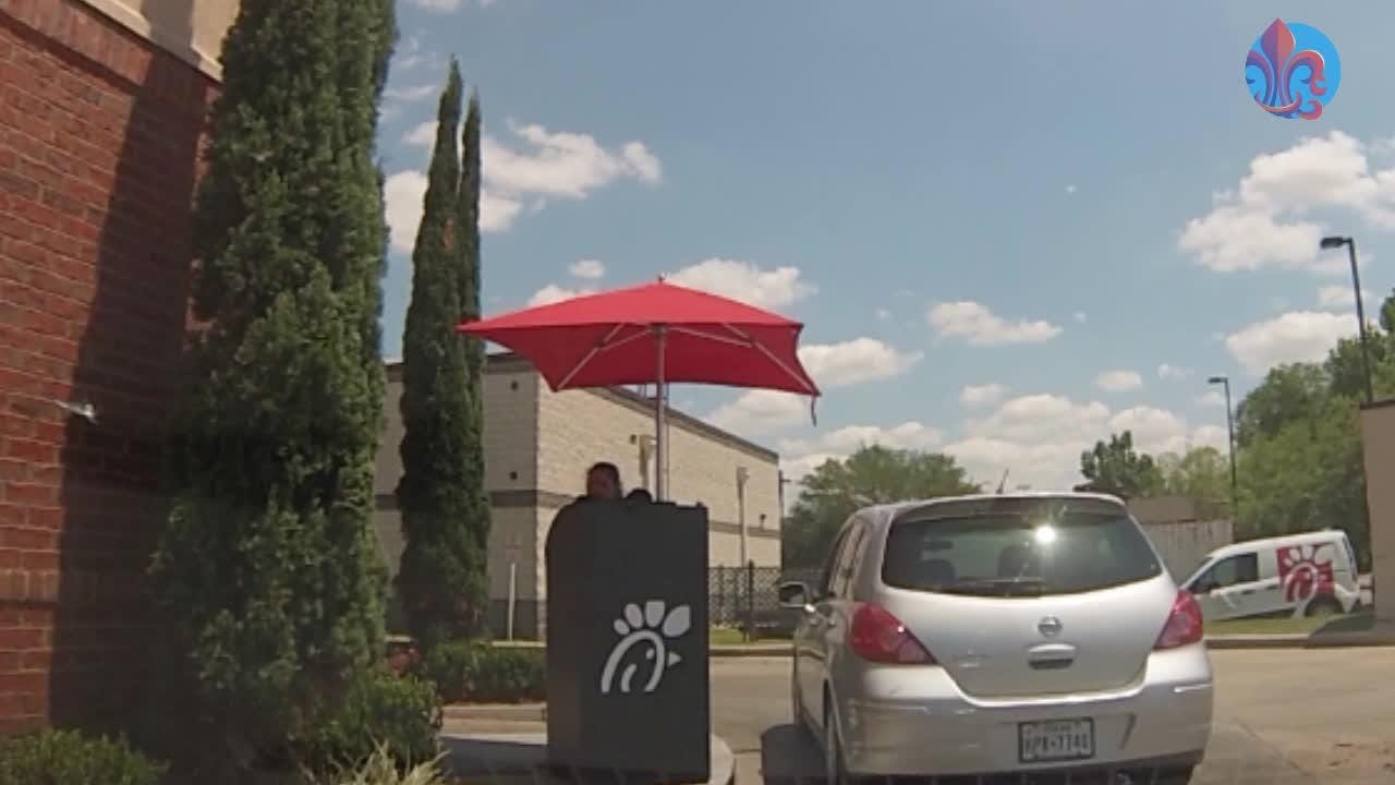 Chick-fil-A on Ambassador Caffery Parkway in Lafayette, Louisiana, has implemented some changes to help you get in and out faster.