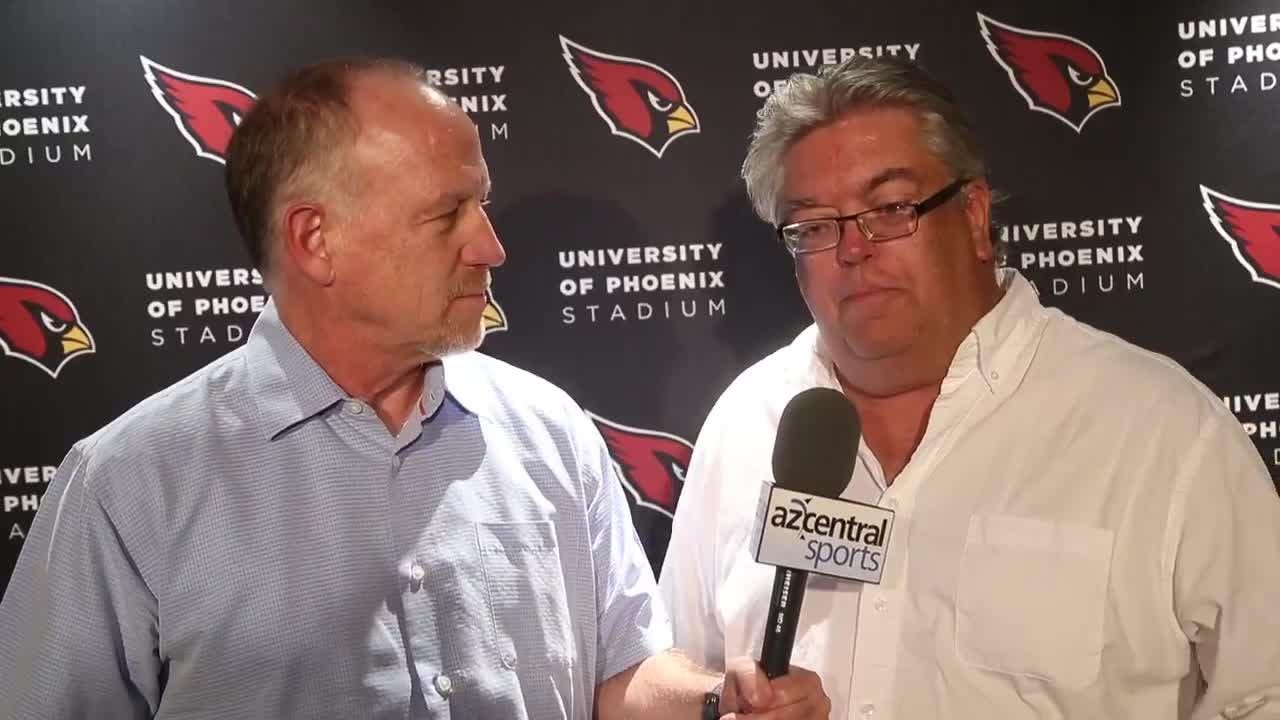 azcentral sports insiders Kent Somers, Bob McManaman break down the Cardinals' pick of Josh Rosen