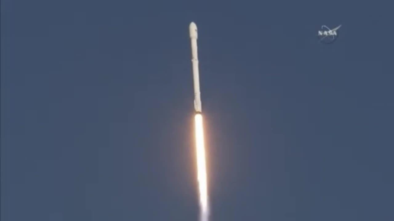 SpaceX launched a Falcon 9 rocket Wednesday April 18, 2018, from Launch Complex 40 at Cape Canaveral Air Force Station.