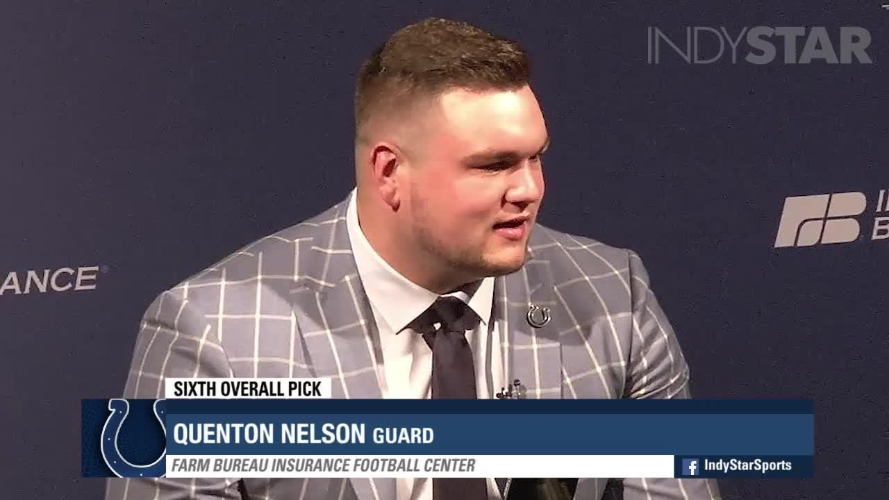 From Picked On To Punishing The Story Of New Colt Quenton Nelson
