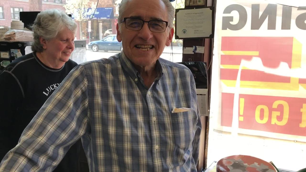 Bob Kazimir, the owner of the family run Kazimir's Pet Shop in Hackensack, says goodbye to his customers after 68 years.