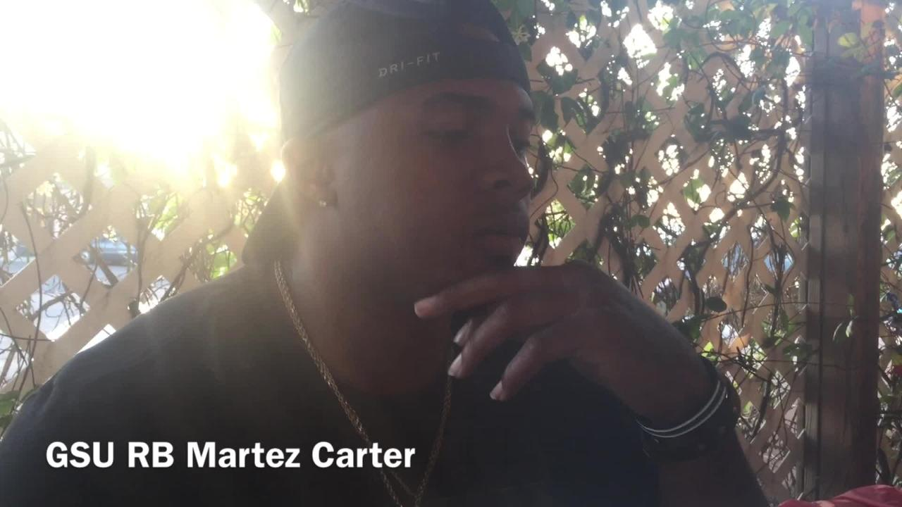 Grambling State running back Martez Carter shares how he felt when he didn't get drafted on Day 3 of the NFL Draft.