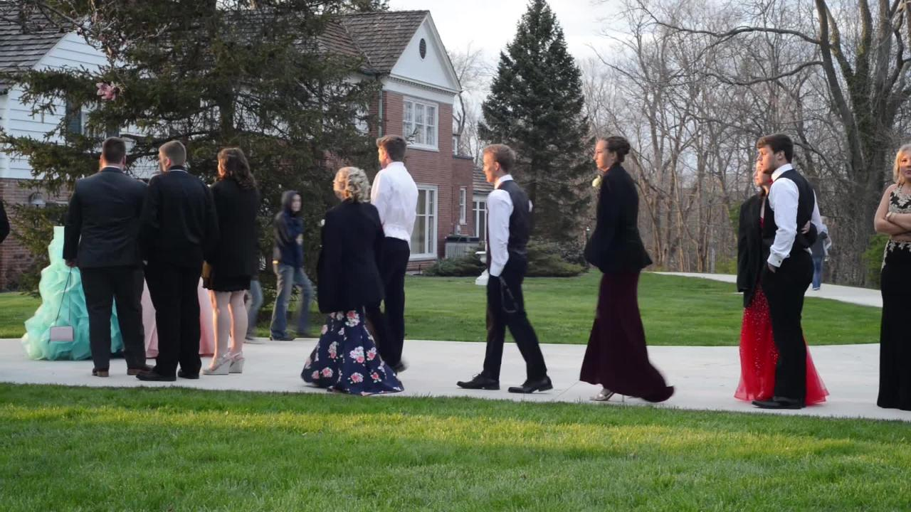 Fairfield Union students and guests celebrated the school's prom Saturday night, April 28, 2018, at Little Brook Meadows in Lancaster.