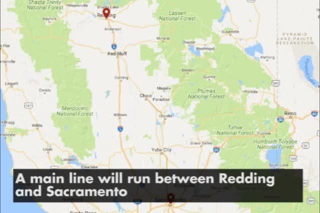 Grant Awarded For Bus Line From Redding To Sacramento