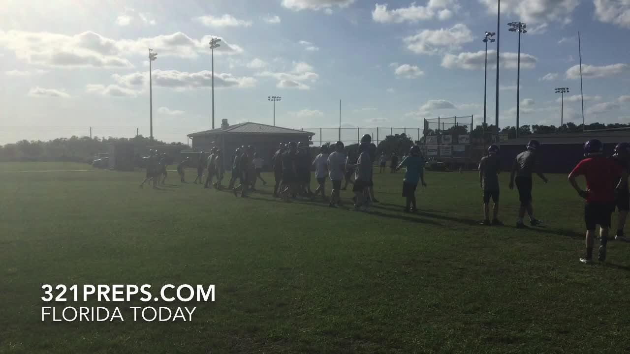 New Space Coast Vipers head football coach Matt Diesel on the best surprise he's found in his new job. Video by Brian McCallum. Posted May 1, 2018.