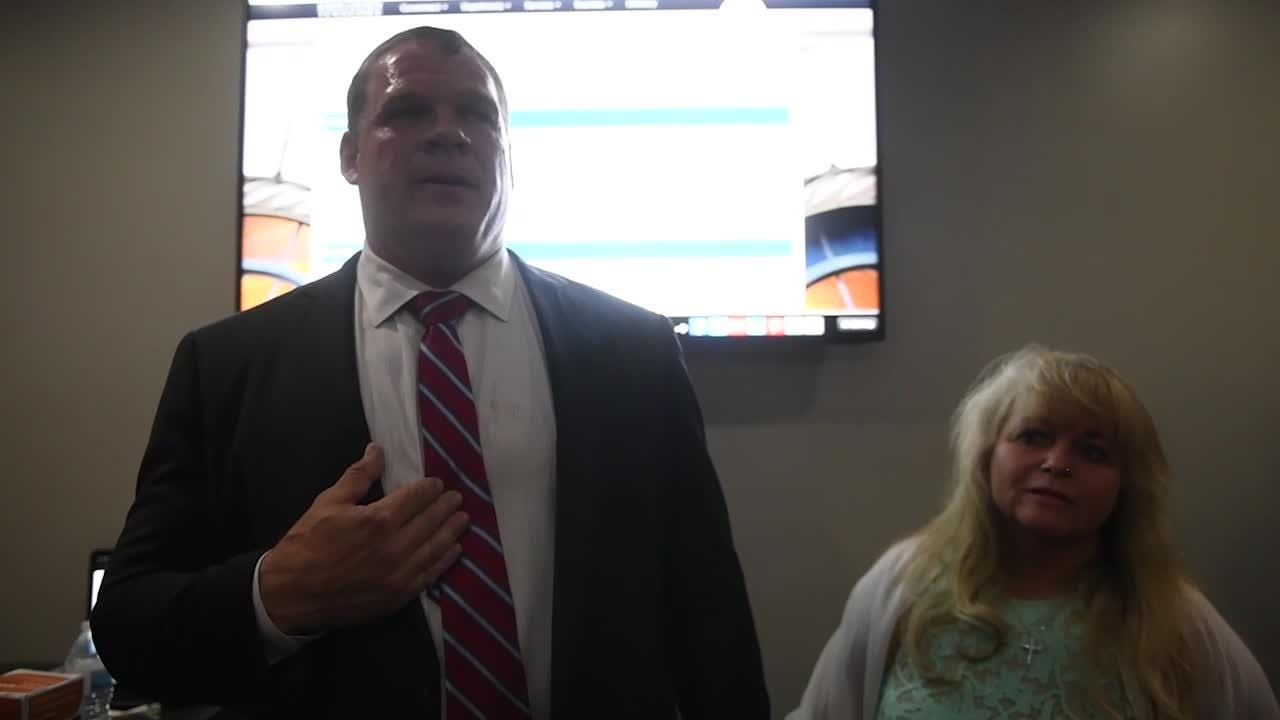 Glenn Jacobs speech to supporters after leading primary by 17 votes