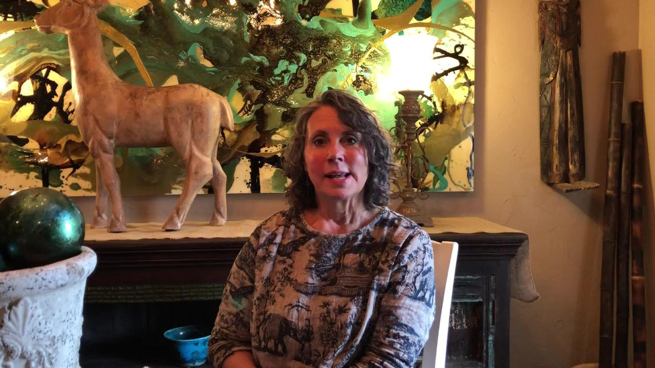 Jenn Fiddyment Wiens talks about her new home in southeast Springfield.