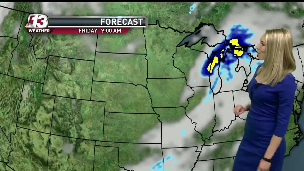 A look at Thursday's weather
