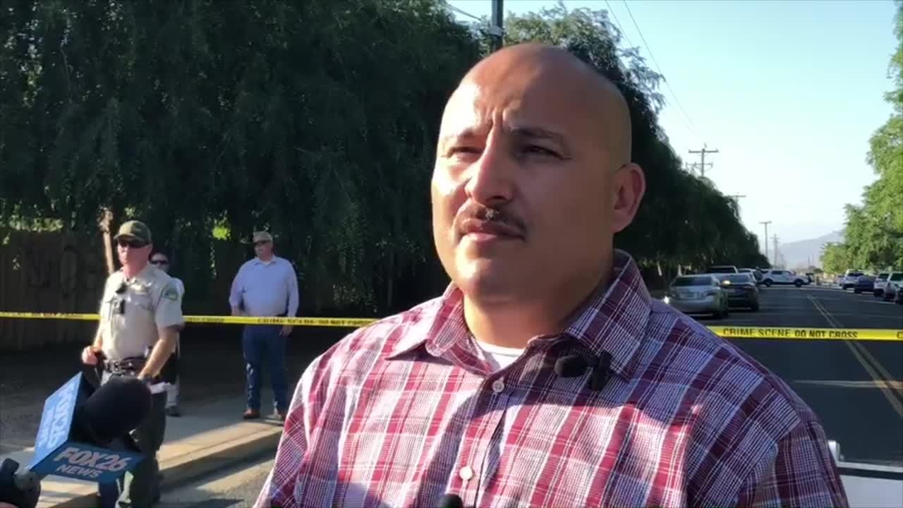 Tulare County Sheriff's Department is not commenting on what led to an officer-involved shooting in Orosi.