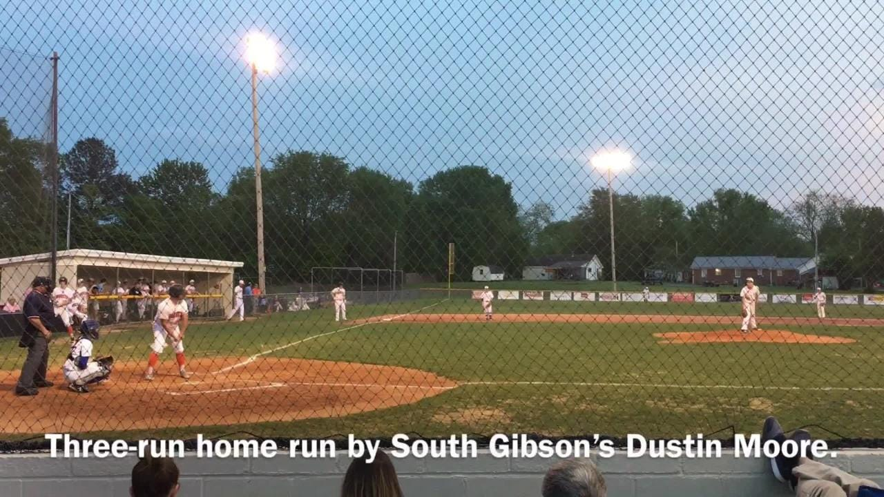 South Gibson opened the District 13-AA tournament with a 10-0 win over Westview in five innings.
