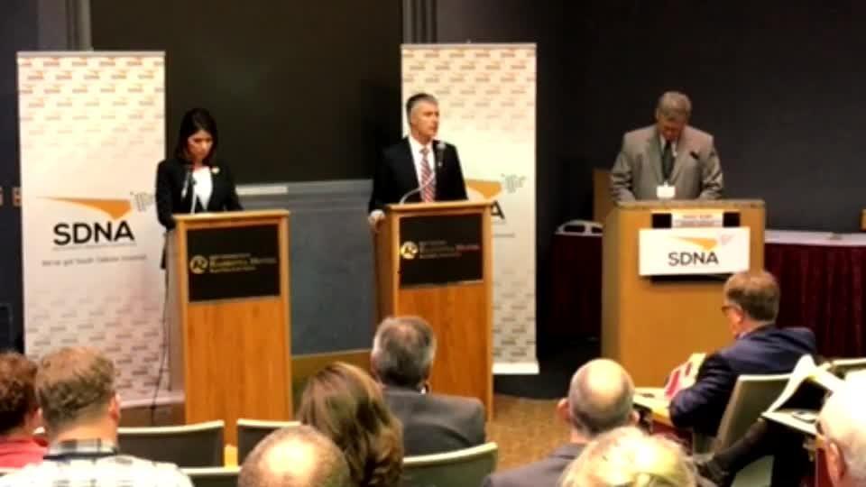 Watch as candidates for governor participate in South Dakota Newspaper Association gubernatorial debate