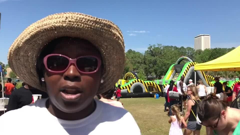 LaFonda Wilson, the family community engagement director for Kids Inc., talks about the 18th Kidfest at Cascades Park.