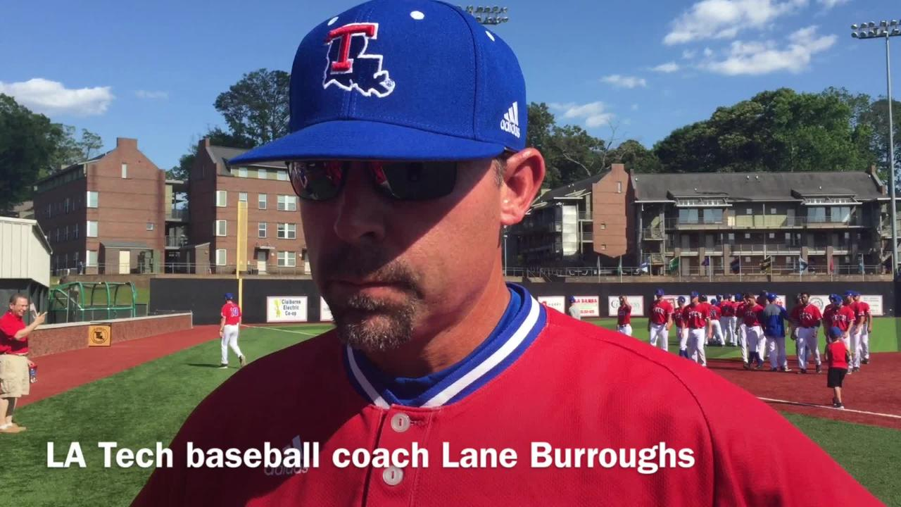 Louisiana Tech baseball coach Lane Burroughs expresses how concerned he is after his pitching staff's performance in MTSU series loss.