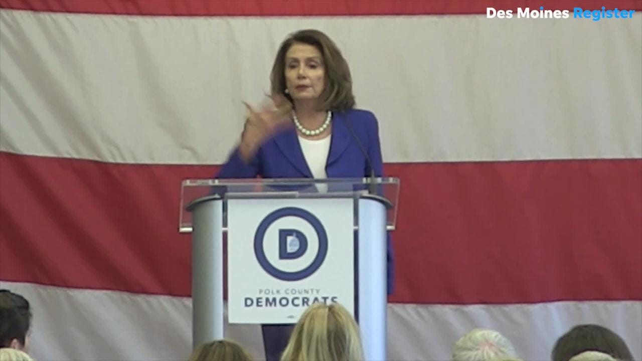 Polk County Democrats to host Nancy Pelosi in Des Moines in October