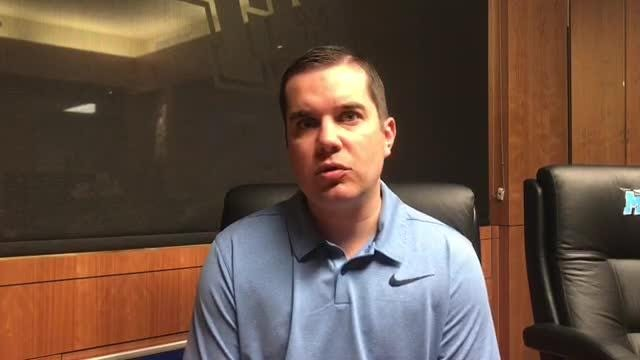 Matt Insell on joining father's staff at MTSU as women's basketball assistant