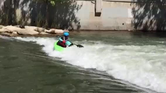 Carson City's Sage Donnelly is one the top female kayakers in the world. She will compete in the Reno River Festival this weekend